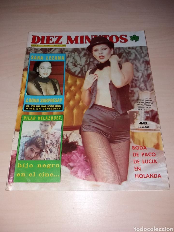 ANTIGUA REVISTA DIEZ MINUTOS - AÑO 1977 NÚMERO 1328 - MARISOL - SEX POSTER TERESA RABAL (Coleccionismo - Revistas y Periódicos Modernos (a partir de 1.940) - Revista Diez Minutos)
