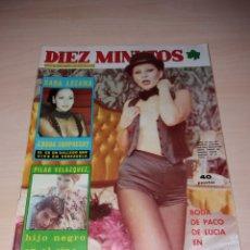 Coleccionismo de Revista Diez Minutos: ANTIGUA REVISTA DIEZ MINUTOS - AÑO 1977 NÚMERO 1328 - MARISOL - SEX POSTER TERESA RABAL. Lote 115406436