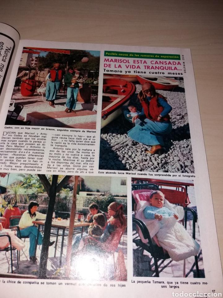 Coleccionismo de Revista Diez Minutos: Antigua revista DIEZ MINUTOS - Año 1977 Número 1328 - Marisol - Sex poster Teresa Rabal - Foto 2 - 115406436