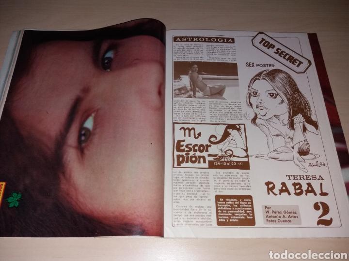 Coleccionismo de Revista Diez Minutos: Antigua revista DIEZ MINUTOS - Año 1977 Número 1328 - Marisol - Sex poster Teresa Rabal - Foto 4 - 115406436