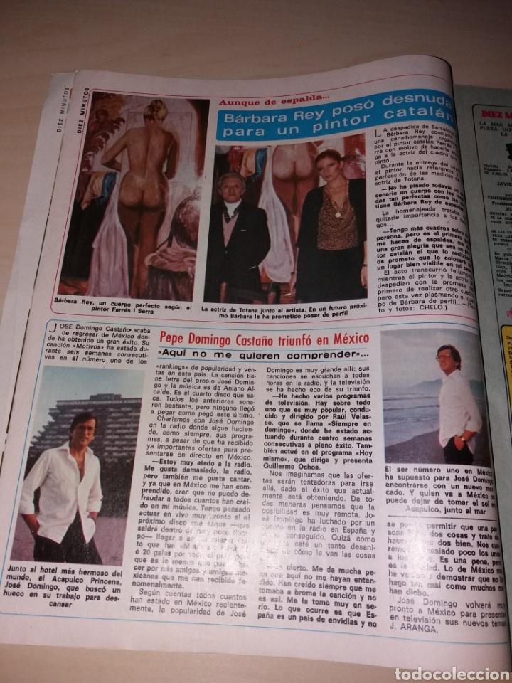 Coleccionismo de Revista Diez Minutos: DIEZ MINUTOS año 1979, Número 1439 - ISABEL PANTOJA - LAS FOTOS OVNIS Q ATEMORIZO A CANARIAS - Foto 4 - 115407387