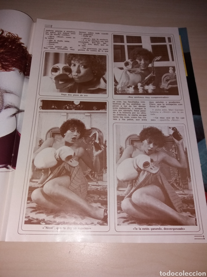 Coleccionismo de Revista Diez Minutos: DIEZ MINUTOS año 1979, Número 1439 - ISABEL PANTOJA - LAS FOTOS OVNIS Q ATEMORIZO A CANARIAS - Foto 10 - 115407387