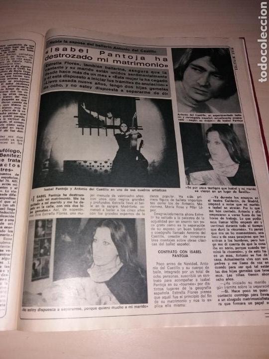 Coleccionismo de Revista Diez Minutos: DIEZ MINUTOS año 1979, Número 1439 - ISABEL PANTOJA - LAS FOTOS OVNIS Q ATEMORIZO A CANARIAS - Foto 2 - 115407387