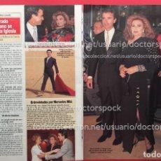 Coleccionismo de Revista Diez Minutos: RECORTE REVISTA DIEZ MINUTOS ROCIO JURADO. Lote 115702215