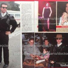 Coleccionismo de Revista Diez Minutos: RECORTE REVISTA DIEZ MINUTOS ORTEGA CANO ROCIO JURADO. Lote 115705219