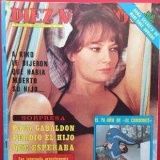 Coleccionismo de Revista Diez Minutos: DIEZ MINUTOS Nº 1377 PACA GABALDON /MARI CRUZ SORIANO / EL CORDOBES / PADRE LOLA FLORES . Lote 115707159