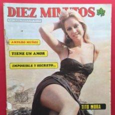 Coleccionismo de Revista Diez Minutos: DIEZ MINUTOS Nº1272 / AMPARO MUÑOZ / TITO MORA / FORGES. Lote 115717615