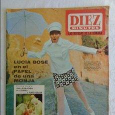 Coleccionismo de Revista Diez Minutos: DIEZ MINUTOS 1967 - BEATLES ESTRENO PELICULA JOHN LENNON - MYLENE DEMONGEOT - DALI - GLORIA CAMARA . Lote 115744907