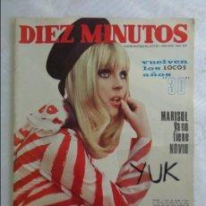 Coleccionismo de Revista Diez Minutos: DIEZ MINUTOS Nº 862 AÑO 1968 - MARISOL - PILI Y MILI - GRUPO PICNIC JEANETTE - GIGLIOLA CINQUETTI ... Lote 115764103