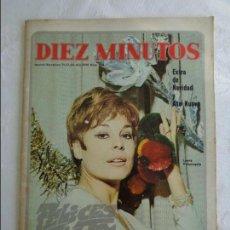 Coleccionismo de Revista Diez Minutos: 1968 - REVISTA DIEZ MINUTOS Nº 904 LAURA VALENZUELA EXTRA DE NAVIDAD - MARISOL - ROCIO DURCAL .... Lote 115764735