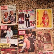 Coleccionismo de Revista Diez Minutos: LOTE REVISTA DIEZ MINUTOS. Lote 116349671