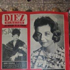 Coleccionismo de Revista Diez Minutos: DIEZ MINUTOS 1962 ADOLFO HITLER. Lote 116596392