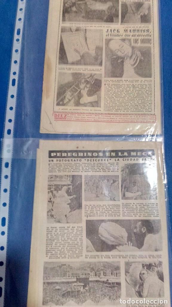 Coleccionismo de Revista Diez Minutos: Lote de dos revistas diez minutos 1954 - Foto 4 - 116951227