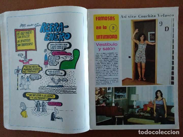 Coleccionismo de Revista Diez Minutos: REVISTA DIEZ MINUTOS 40 FAMOSAS EN LA INTIMIDAD DIBUJOS FORGES EXTRA 1974 - Foto 3 - 117600680