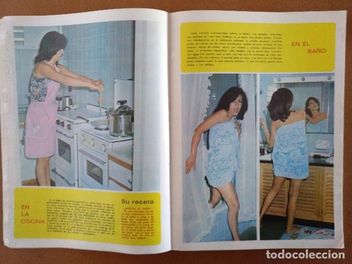 Coleccionismo de Revista Diez Minutos: REVISTA DIEZ MINUTOS 40 FAMOSAS EN LA INTIMIDAD DIBUJOS FORGES EXTRA 1974 - Foto 4 - 117600680