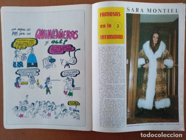 Coleccionismo de Revista Diez Minutos: REVISTA DIEZ MINUTOS 40 FAMOSAS EN LA INTIMIDAD DIBUJOS FORGES EXTRA 1974 - Foto 5 - 117600680