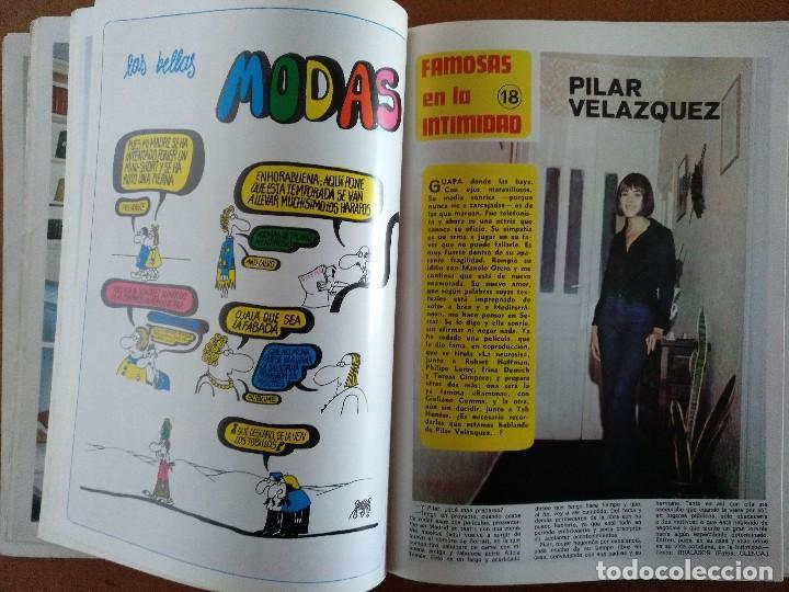 Coleccionismo de Revista Diez Minutos: REVISTA DIEZ MINUTOS 40 FAMOSAS EN LA INTIMIDAD DIBUJOS FORGES EXTRA 1974 - Foto 7 - 117600680