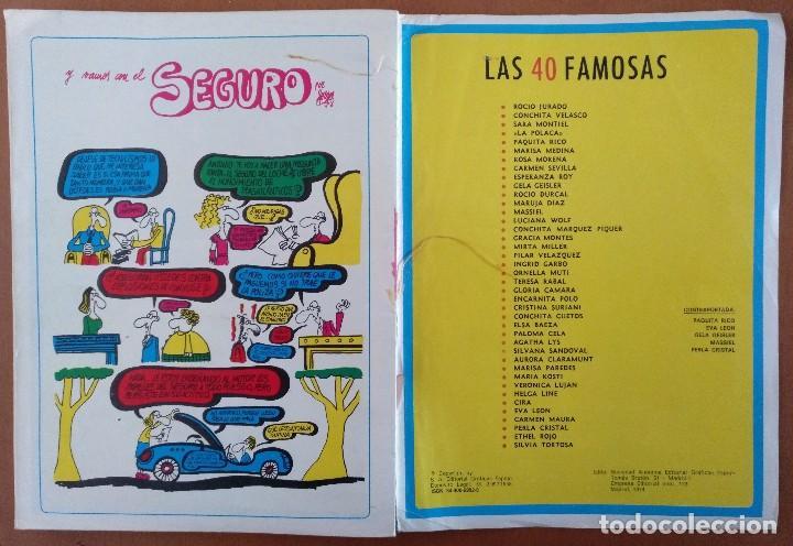 Coleccionismo de Revista Diez Minutos: REVISTA DIEZ MINUTOS 40 FAMOSAS EN LA INTIMIDAD DIBUJOS FORGES EXTRA 1974 - Foto 8 - 117600680
