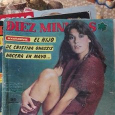 Coleccionismo de Revista Diez Minutos: DIEZ MINUTOS EL HIJO DE CRISTINA ONASSIS. Lote 117709351