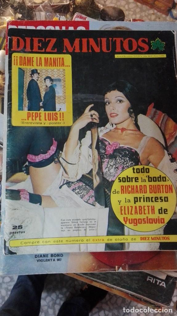 DIEZ MINUTOS LA BODA DE RICHARD BURTON (Coleccionismo - Revistas y Periódicos Modernos (a partir de 1.940) - Revista Diez Minutos)
