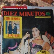 Coleccionismo de Revista Diez Minutos: DIEZ MINUTOS LA BODA DE RICHARD BURTON. Lote 117717771