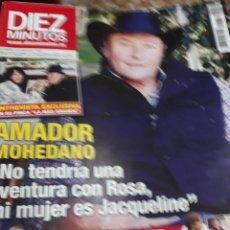 Coleccionismo de Revista Diez Minutos: REVISTA 01/2016.AMADOR MOHEDANO. Lote 117935002