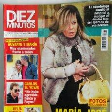 Coleccionismo de Revista Diez Minutos: REVISTA DIEZ MINUTOS ENERO 2018 N° 3466 MARIA JOSÉ CAMPANARIO BELÉN ESTEBAN GUSTAVO Y MARÍA. Lote 118607422