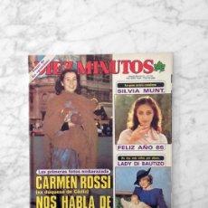 Coleccionismo de Revista Diez Minutos: DIEZ MINUTOS - 1985 - LOLA FLORES, MIGUEL RÍOS. ROCIO CARRASCO, J. IGLESIAS, GREMLINS, MARIA CASAL. Lote 118655771