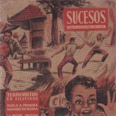 Coleccionismo de Revista Diez Minutos: SUCESOS - Nº 29 / MAYO 1955 - SUPLEMENTO DE DIEZ MINUTOS. Lote 119447455
