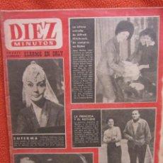 Coleccionismo de Revista Diez Minutos: REVISTA DIEZ MINUTOS. Nº 542 1/1962. Lote 119750715