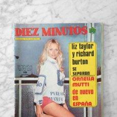 Coleccionismo de Revista Diez Minutos: DIEZ MINUTOS - 1973 - SYBIL DANNING, VALENTIN TORNOS, BLANCA ESTRADA, ROMY SCHNEIDER, PAUL NASCHY. Lote 121209679