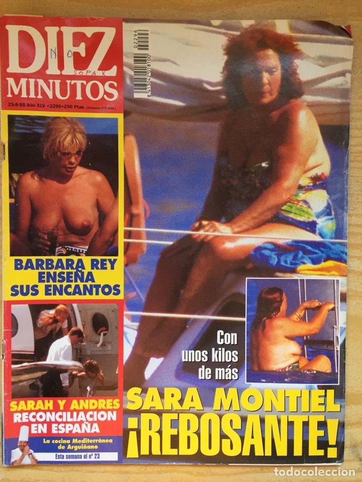 DIEZ MINUTOS 2296 SARA MONTIEL BARBARA REY MARTA SÁNCHEZ (Coleccionismo - Revistas y Periódicos Modernos (a partir de 1.940) - Revista Diez Minutos)