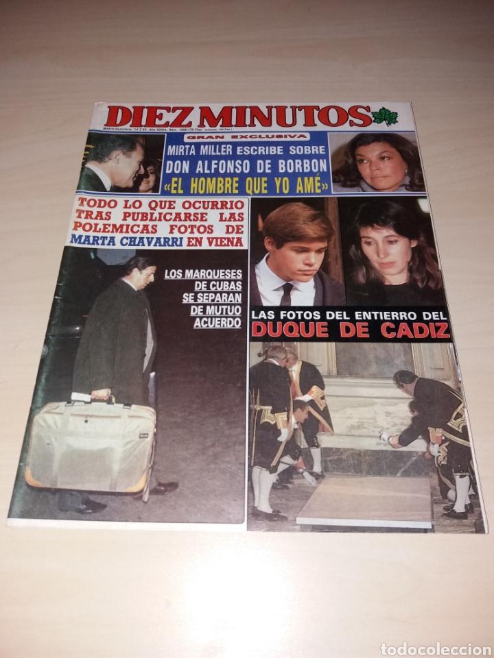 ANTIGUA REVISTA DIEZ MINUTOS - FEBRERO DE 1989 - EL DUQUE DE CÁDIZ (Coleccionismo - Revistas y Periódicos Modernos (a partir de 1.940) - Revista Diez Minutos)