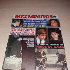Coleccionismo de Revista Diez Minutos: ANTIGUA REVISTA DIEZ MINUTOS - FEBRERO DE 1989 - EL DUQUE DE CÁDIZ. Lote 121644402