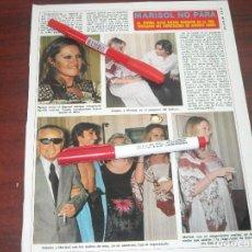 Coleccionismo de Revista Diez Minutos: DIEZ MINUTOS AÑO 1974- MARISOL FUTURA MAMA Y ANTONIO GADES -RECORTE PRENSA. Lote 121809935