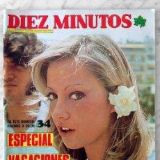 Coleccionismo de Revista Diez Minutos: DIEZ MINUTOS - 1973 - ROCIO MARTIN, MISS MUNDO, ISABEL PATON, SHEILA, SYLVIE VARTAN, CAMILO SESTO. Lote 93137660