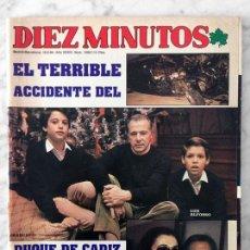 Coleccionismo de Revista Diez Minutos: DIEZ MINUTOS - 1984 - EL DUQUE DE CÁDIZ, PAQUITA RICO, ANGELA MOLINA, MANOLO OTERO, JULIO IGLESIAS. Lote 78160417
