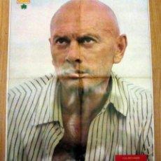 Coleccionismo de Revista Diez Minutos: POSTER REVISTA DIEZ MINUTOS YUL BRYNNER. Lote 128390855