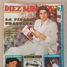 Coleccionismo de Revista Diez Minutos: REVISTA DIEZ MINUTOS JOHN TRAVOLTA MAYO 1978. Lote 128415851