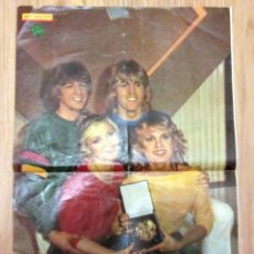 Coleccionismo de Revista Diez Minutos: POSTER REVISTA DIEZ MINUTOS BUCKS FIZZ FESTIVAL EUROVISION 1981. Lote 254257890
