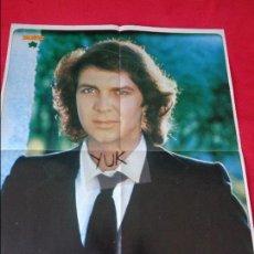 Coleccionismo de Revista Diez Minutos: BONITO GRAN POSTER DE CAMILO SESTO + FICHA CON FOTOS DE SU VIDA. Lote 128552567