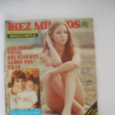 Coleccionismo de Revista Diez Minutos: DIEZ MINUTOS Nº 1353 AÑO 1977 PUBLICIDAD NESCAFÉ SIDRA EL GAITERO , POSTER CENTRAL. Lote 129052455