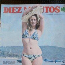 Coleccionismo de Revista Diez Minutos: DIEZ MINUTOS Nº 1138 - JUNIO DE 1973 ( CONTIENE EL POSTER DE TONY FRANCIOSA ). Lote 129350507