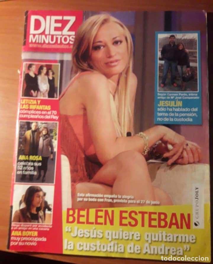 REVISTA DIEZ MINUTOS. ENERO 2008. VER SUMARIO (Coleccionismo - Revistas y Periódicos Modernos (a partir de 1.940) - Revista Diez Minutos)