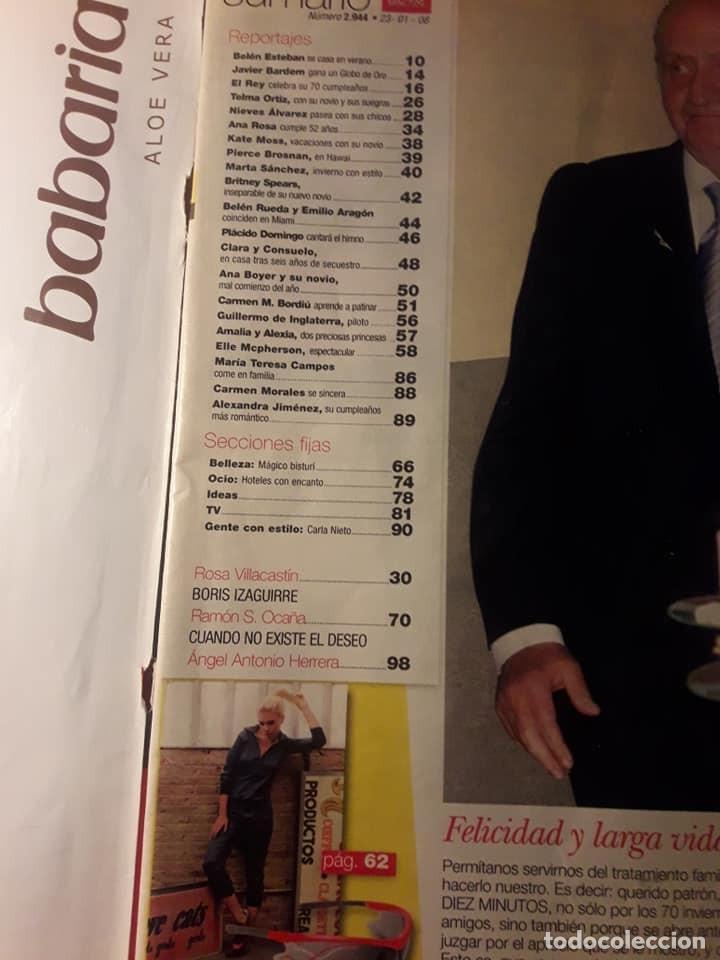 Coleccionismo de Revista Diez Minutos: Revista Diez Minutos. Enero 2008. Ver sumario - Foto 2 - 130262014