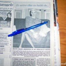 Coleccionismo de Revista Diez Minutos: RECORTE PRENSA : BRIGITTE NIELSEN . DIEZ MINUTOS, FBRERO 1989. Lote 130562526