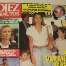 Coleccionismo de Revista Diez Minutos: REVISTA DIEZ MINUTOS AÑO 1992. Lote 133161593