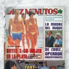 Coleccionismo de Revista Diez Minutos: DIEZ MINUTOS - 1983 - VICTORIA VERA, AMPARO MUÑOZ, DAVID BOWIE, FIORELLA FALTOYANO, P. SAN BASILIO. Lote 92005480