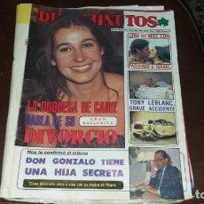 Coleccionismo de Revista Diez Minutos: NÚMERO 1656 AÑO 1983 PAQUIRRI ISABEL PANTOJA DUQUESA DE CÁDIZ BIBI ANDERSEN . Lote 134313786