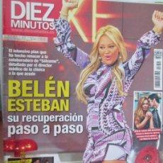 Coleccionismo de Revista Diez Minutos: REVISTA DIEZ MINUTOS Nº 3245 OCTUBRE 2013 - BELÉN ESTEBAN, SU RECUPERACIÓN PASO A PASO. Lote 134413854